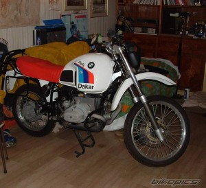 BMW R80 GS Paris Dakar